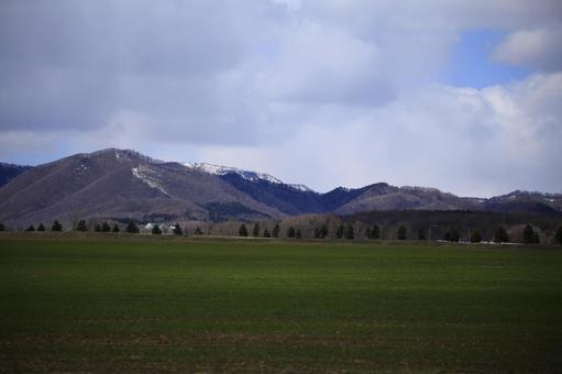산맥의 풍경