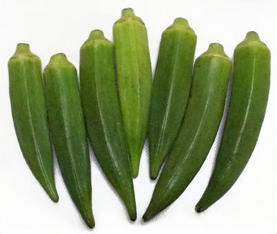 A lot of okra
