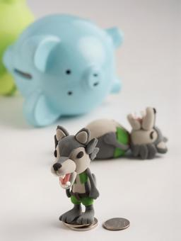 Wolf and pig 15