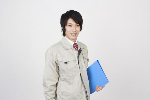 Working clothing men and files 1