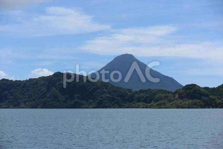 池田湖 九州最大の湖の写真