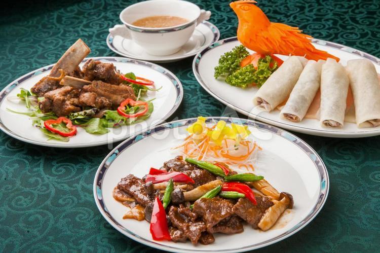 中華料理イメージの写真