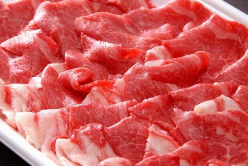 돼지 고기 어깨 장미 잘라