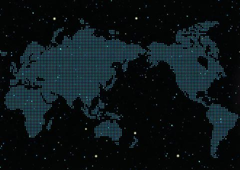 월드 맵 점