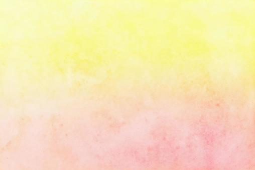Gradient background of yellow and orange New Year's card material Blur Japanese paper style pink