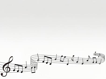 Musical note · Music background material · Simple 05