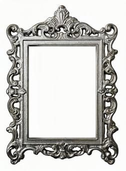 Antique silver frame
