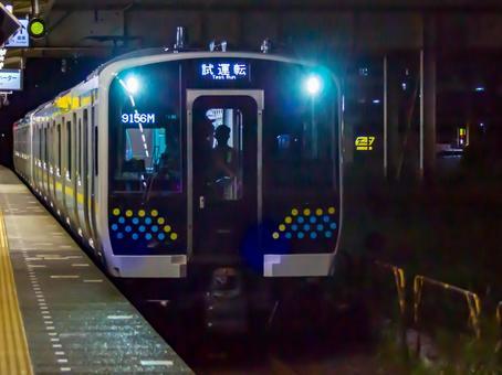 E131 series 0 series R03 formation & R04 formation Uchibo line / Sotobo line test run Kimitsu station