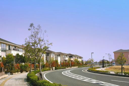도로 및 주택가 4