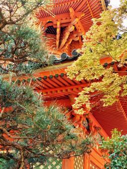 Tahō-dera of Mitaki-dera