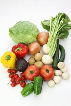 Variety of vegetables 4