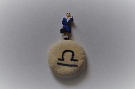 Female student on the Libra mark (spiritual)