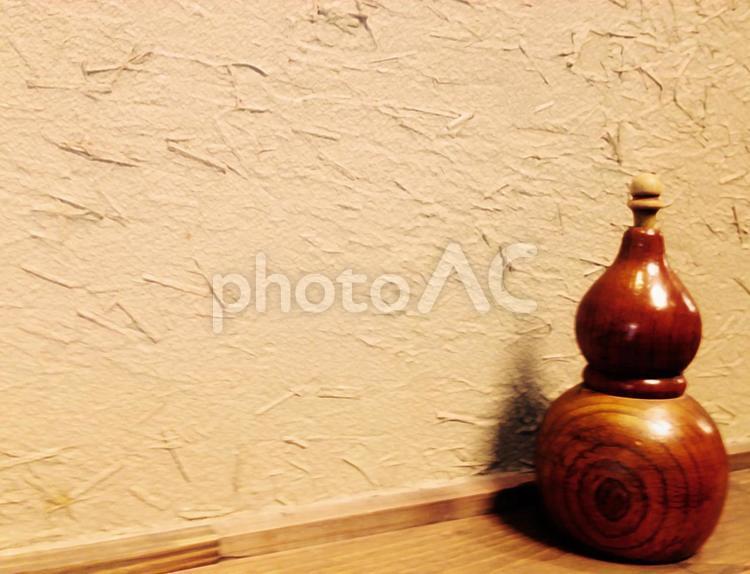 ひょうたん型の唐辛子入れの写真