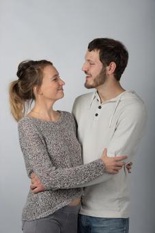 Hugging couple 8