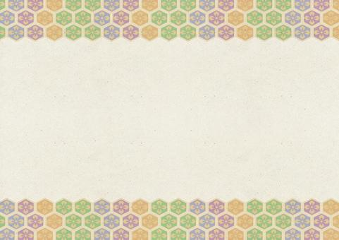 Japanese paper background 09. Beige paper pattern