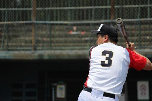 Male person baseball sports pinch hitter