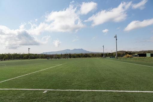 Soccer · Ground, Tarumaeyama