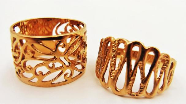 Gold ring image