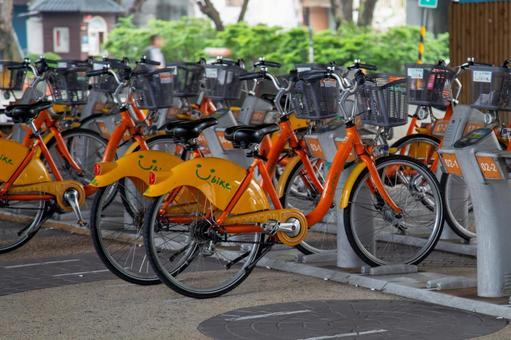 대만의 풍경 - 사용자 자전거