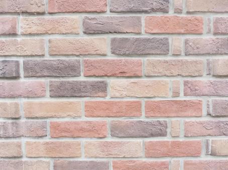 따스함 조 벽돌 벽 가로 텍스처