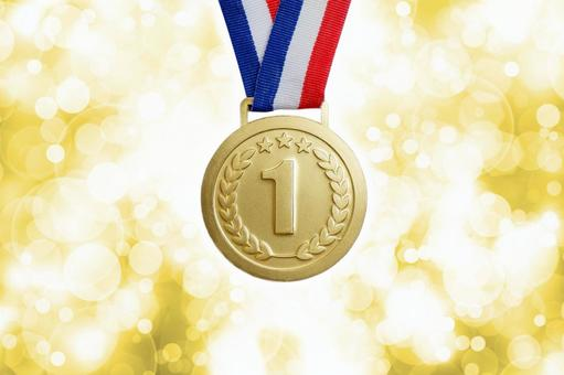 Gold medal 1st place ranking material