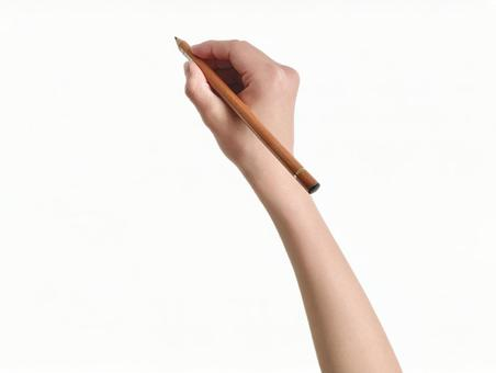Hand (white background / Cutout PSD) _Write