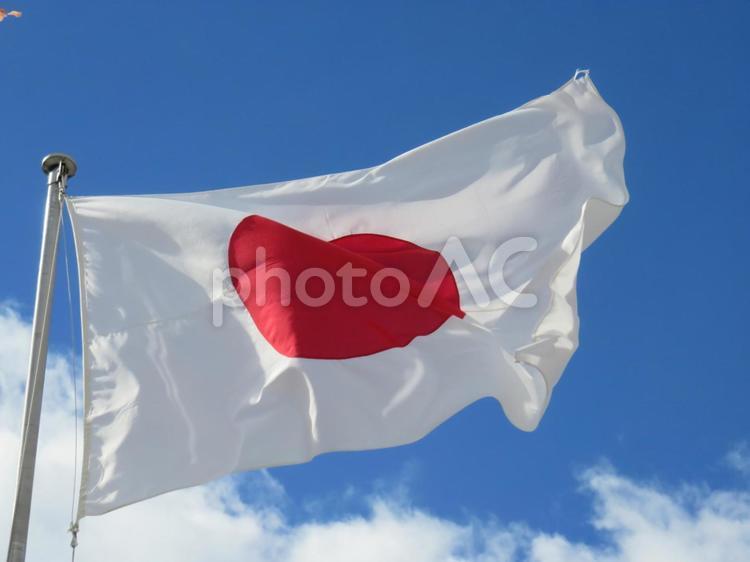 日章旗の写真