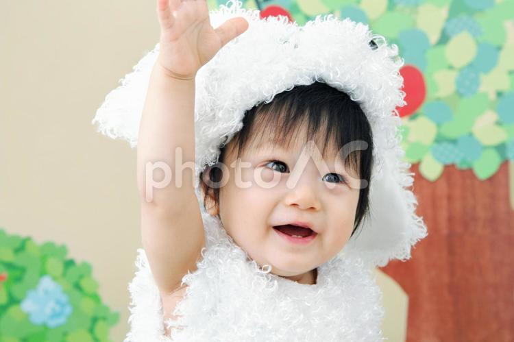 赤ちゃん 08 着ぐるみの写真