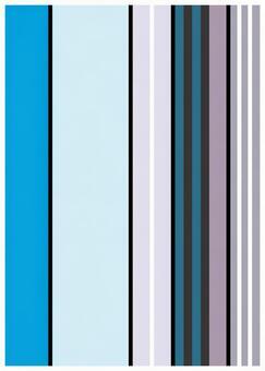 Scandinavian design blue line