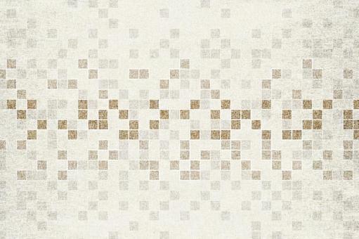 具有不規則方格圖案的日本紙圖像紋理