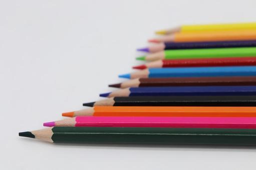 화려한 색연필