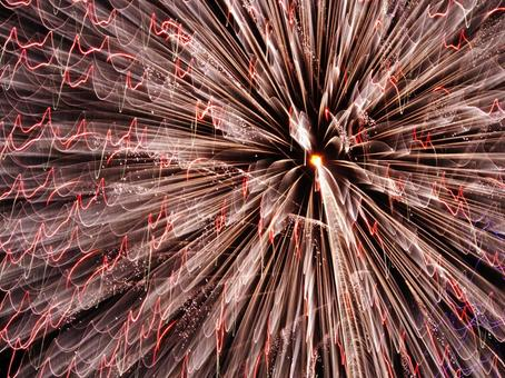 Art fireworks