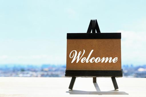 Welcome Board Welcome Signboard Image Material