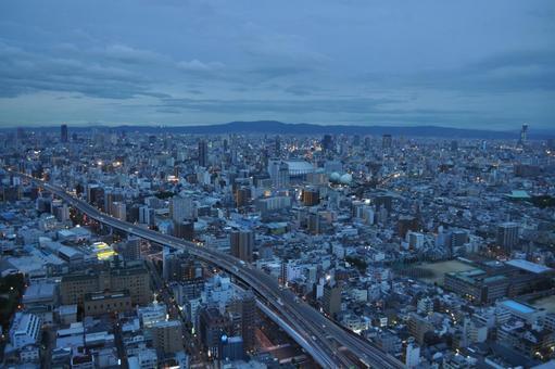 오사카 저녁 ~ 밤