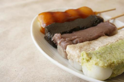 Skewered dumpling 5