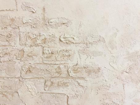 European-style plaster wall