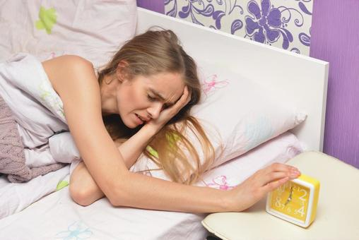 Foreign lady who wakes up to sleep 14