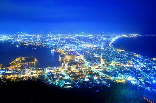 Hakodate-yama Night view