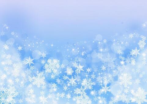 Snowflake texture _ pale blue