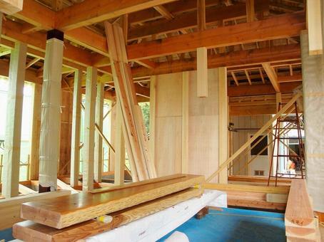 목조 주택 건설 현장 7