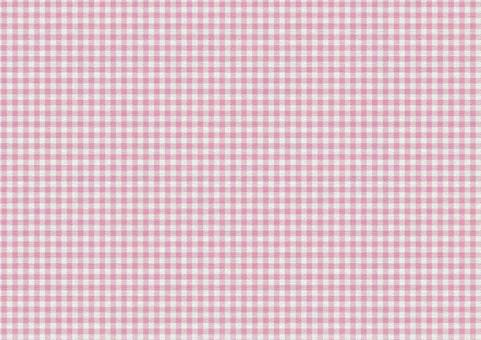 Gingham Check Texture [Campus / Pink]