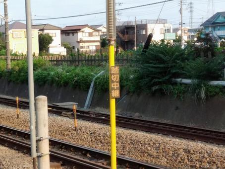鐵路道口接力
