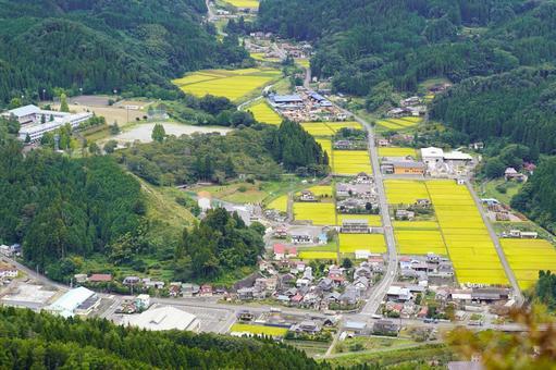 산간 지역 (후쿠시마 현 후루 도노 정)