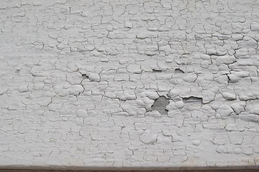 갈라진 하얀 페인트