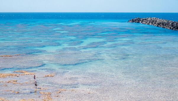 Beautiful sea view of Amami Oshima