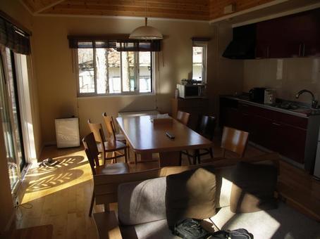 Room of the sunny villa