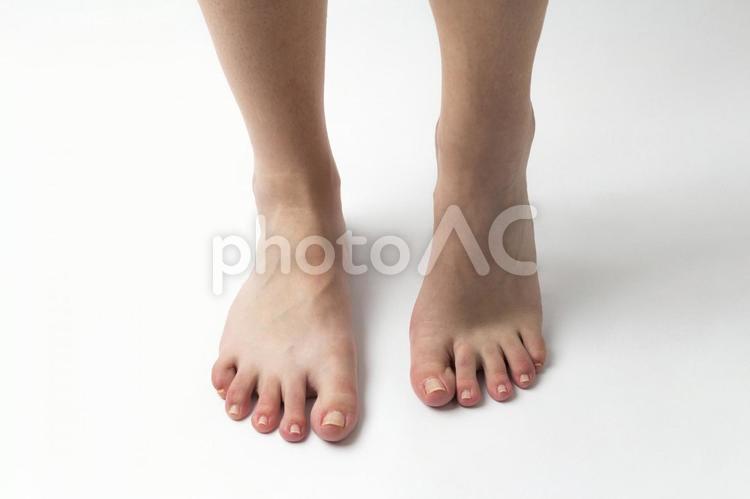 裸足の足元4の写真