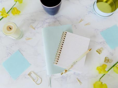 Spring notebook time