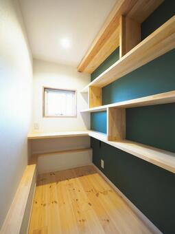 Study Storage Design Cloth Walk-in Closet