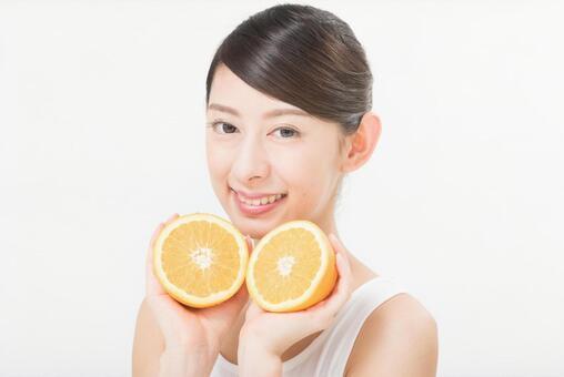 橙色3女子